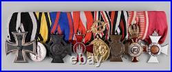 WW1 German, 8 Medal Group, Original