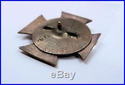 WW1 German Imperial iron cross badge pin jacket medal WW2 USA Veteran estate EK
