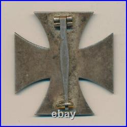 WW1 German Imperial iron cross badge pin jacket medal WWII US war Veteran estate