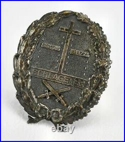 WW1 German Imperial schlageter badge pin 1923 medal WWII US Veteran estate