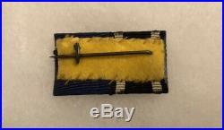 WW1 German Iron Cross Ek2 12 Year Service Medal Badge Ribbon Bar WW2
