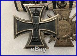 WW1 German Iron Cross Medal Ribbon Bar Badge Hindenburg Cross WW2
