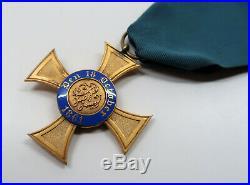 WW1 German pin Prussian cross badge medal WW2 Royal Order of the crown enamel