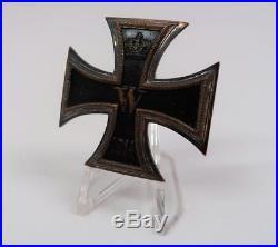 WW1 Iron Cross EK brass core pin medal badge Imperial WW2 German uniform award