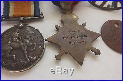 Ww1 Medals /badge / Dog Tag New Zealand Recipient