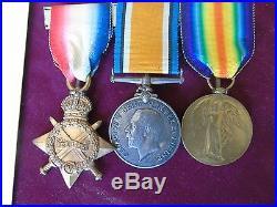 Ww1 Medal Group Grenadier Guards Machine Gun Regiment Corps Scarce Unit & Photos