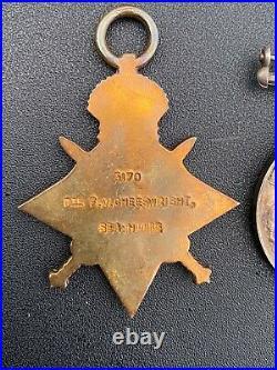WW1 M. S. M medal group 5th Battalion Seaforth Highlanders France & Flanders
