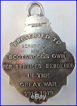 WW1 Medal Group Sergeant F. Lake Machine Gun Corps / 5th Lancers
