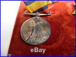 WW1 Medal group 13685 Pte W. DOXSEY. R. WAR. R. QSA Royal Warwickshire Regiment