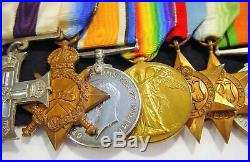 WW1 Military Cross 8 Medal Grouping with recipient serving both In R. F. A and RN