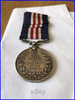 WW1 Military Medal For Gallantry Callaway RAMC