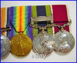 WW1 Military Medal Unusual and Seldom Seen Six Medal Grouping