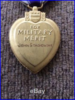 WW1 Named & Numbered Medal with OLC