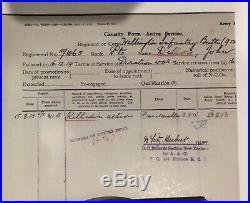 WW1 New Zealand Gallipoli 8th August 1915 Chunuk Bair KIA Medal Trio & Plaque
