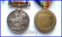 Ww1 Officer's Medals 1914-1918 British Officer's Medals + Miniatures+boxes Etc