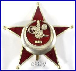 WW1 Original Turkish (Ottoman Empire) Gallipoli Star Enamelled