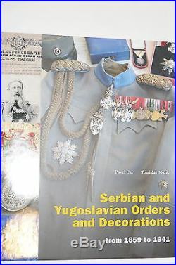 WW1 Serbian Yugoslavian Orders Medals Decorations 1859-1941 Reference Book