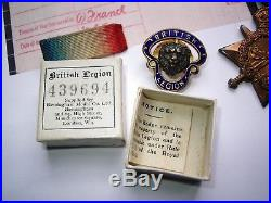 WW1 Trio Star British War Victory medal Pte H Lord Norfolk Rgt 8bn 1st day Somme