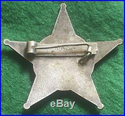 WW1 Turkish Gallipoli Star Medal Maker BB & CO Germany Rare