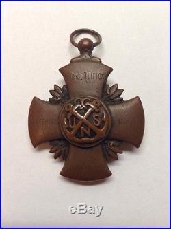 Ww1 Usn U. S. Navy Europe 1917 -1919 Carpenter Military Medal