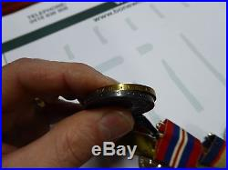WW1-WW11 AIF AUSTRALIAN MEDAL GROUP 1157 L. FRY 36th HEAVY. A. B & LIEUT A. A. P. C