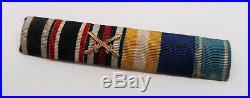 WW1 WW2 German ribbon bar pin medal badge Wehrmacht soldier uniform tunic jacket