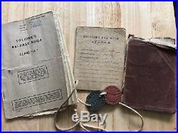 WW1/WW2 Medal Group. Long service. Territorial Efficiency Medal. Swansea. 6th Welsh