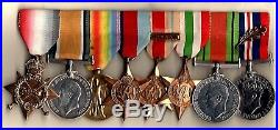 WW1 WW2 Mid Medal Group Lt / Lt Col F R Humphreys RASC Royal Army service Corps