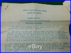 WW1/WW2 POLICE MEDAL GROUP OF 4 A. & S. H. + RARE EPHEMERA Army Book 136 etc
