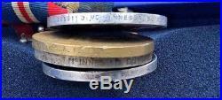 WW1 WW2 Rare Navy Medal Group of 8 HMS Glorious Aircraft Carrier Mystery
