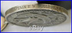 WW1 WW2 SS Arandora Star Captains LLoyds Bravery Medals Nurse Wife Medal Moulton