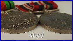 WW2 3 Star Medal Set