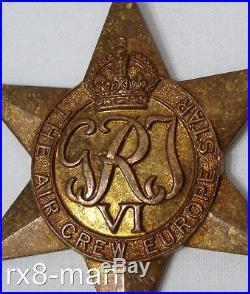 Ww2 Air Crew Europe Star Medal Group To F/lt R. H. Willis Dsm + Miniatures Etc