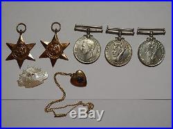 Ww2 Australian Military Medals Set Of Five Raaf Raf Airforce Plus Extras