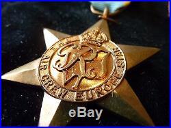 WW2 Air Crew Europe Star Medal Group Killed in Action Medal Slip & Letter