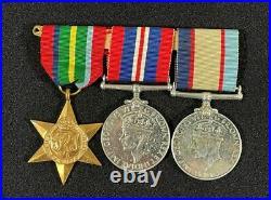 WW2 Australian British Pacific Star Medal Grouping, J B Moore NX48520