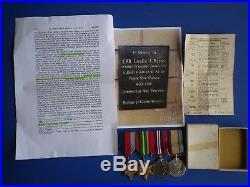 WW2 Australian medal group 2/9 Commando Squadron. KIA 1945. New Guinea