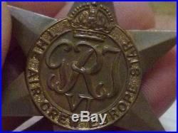 WW2 BRITISH AIR CREW EUROPE STAR MEDAL 100% ORIGINAL and 1939/45 medal