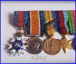 WW2 British MI6 Secret Service Agent Original Frank Foley Medals & Orderd Set