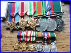 WW2 British officers medals, dog tags, photos, diaries, letters, papers MID etc