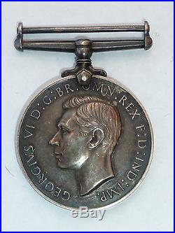 Ww2 George VI Naval Long Service And Good Conduct Medal Royal Marines
