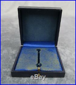 WW2 German Luftwaffe Air Force PILOT BADGE award medal cross bar pin box case