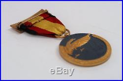 WW2 German pin Spain cross badge medal parade bar WW1 Legion Condor ribbon award