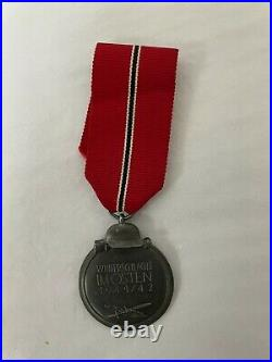 WW2 German war medal eastern front 1941/42 with ribbon
