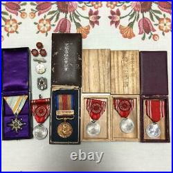 WW2 Imperial Japanese Army Medal Very Rare! Military Antique Free/Ship