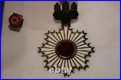 WW2 Imperial Japanese Order Rising Sun 3rd Class Cased Neck Award Medal