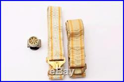 WW2 Japanese Order of the Sacred Treasure 3rd Cl. Medal Japan Pure Silver WWII