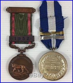 WW2 & Later Medal Group/Bar Korea, Malaya, Oman, Captain KD Brett