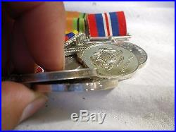 WW2 Malaya British Australian medal group. Africa France Germany RAAF JASA