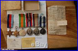 WW2 Medal group to POW captured Greece & Mid Greece. 2/3 Bn Interesting story